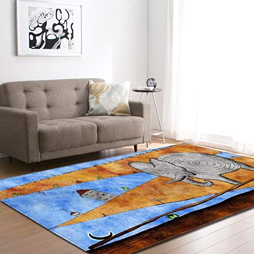 FORNCALO tapijten Nordic Halloween 3D schedel geest gebied tapijten decoratieve horror pompoen spelen pad jongen kamer flanel spel matten tapijt voor woonkamer