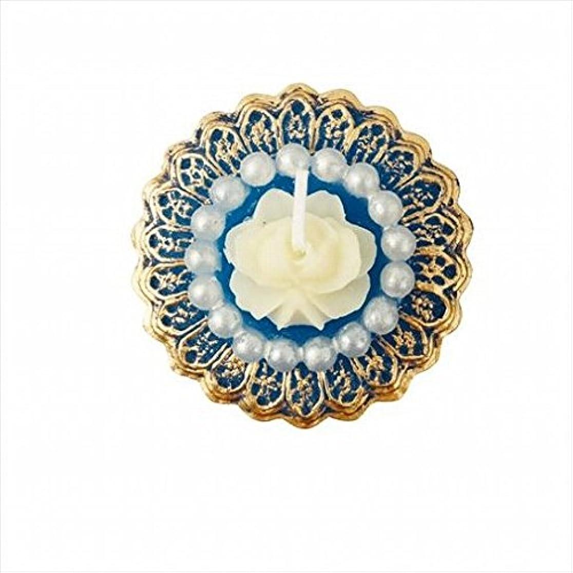 つかむ賭けはっきりとkameyama candle(カメヤマキャンドル) アンティークジュエリー 「 ブルーローズシェル 」 キャンドル 48x48x24mm (A4380020)