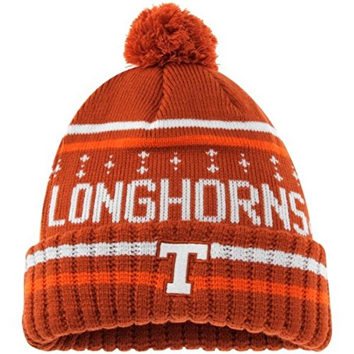 b8d50114963 Texas Longhorns Official NCAA Barometer Cuffed Knit Beanie Stocking Hat  166630