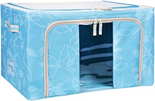Boîte de Rangement vêtement saisonnier sous lit 58L Tissu Oxford Pliant Boîte De Rangement Boîte De Rangement Vêtements Jo...