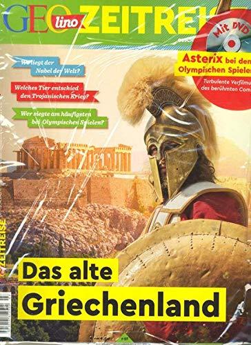 GEOlino Zeitreise mit DVD 07/2018 - Das alte Griechenland: DVD: Asterix bei den Olympischen Spielen
