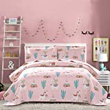 Zelda Breathable /& Cooling 3 Piece Bed Set Bedding Stain Resistant 3 Piece for Girls Boys Bedroom White 66x90 inch