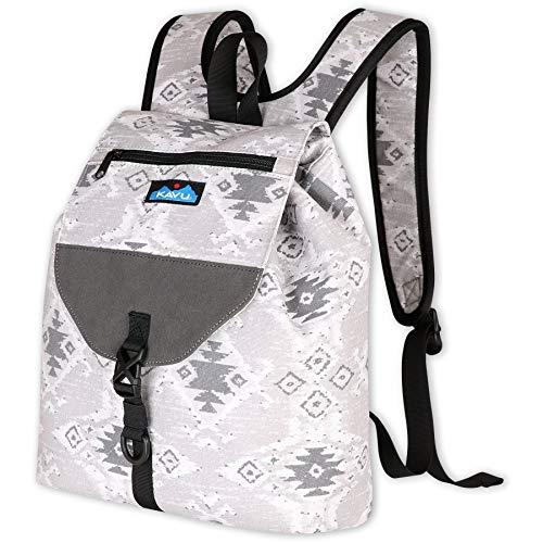 KAVU Satchel Pack Rucksack Travel Backpack-Stoneway Ikat