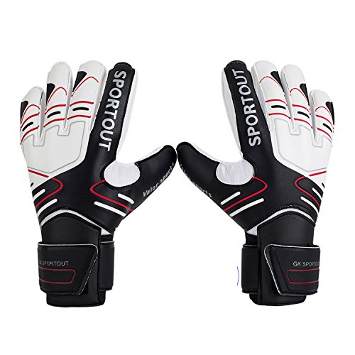 Youth&Adult Goalie Goalkeeper Gloves,Strong Grip for The...
