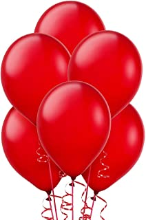 Balloon 12 Inch Metallic Red Rose Color, 40 pcs/Bag, Multi color