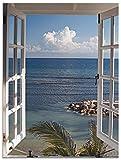 Artland Wandbild Alu für Innen & Outdoor Metall Bild 60x80