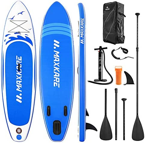 MaxKare Stand Up Paddle Board Inflatable SUP W Stand up Paddle Board Accessories Backpack Paddle product image