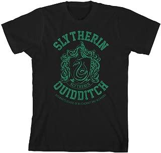 Gryffindor Slytherin Ravenclaw Hufflepuff Quidditch Boys Youth T-Shirt