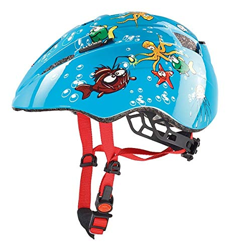 Uvex Kinder Fahrradhelm Kid 2, Sea Devil, 46-52, 4143061815