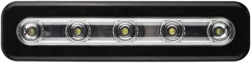 SOLUSTRE Kast licht onder kastverlichting Aircover Motion Sensor licht met 5 LED lampen draagbaar licht voor kledingkast d...