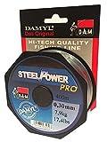 DAM DAMYL SteelPower Pro Angelschnur 400 m - 0,30 mm