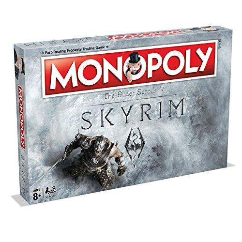 Winning Moves Skyrim Monopolio Juego de Tablero