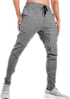 Men's Tapered Running Jogger Athletic Pants Gym Training Pants