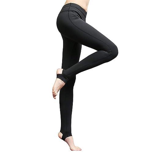 YJKJSK Nouveau Femmes Plein Longueur Sport Pantalon Slim Taille Haute étape Pied Gym Gym Leggings De Yoga Pantalon Profession FonctionneHommest Pantalon De Fitness