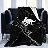 Yunako Chasmosaurus Dinosaur Throw Blanket Warm Soft Bed Sofa Chair Couch Blanket for Kids Mens Womens