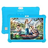 Tablette Tactile 10 Pouces WiFi 4G Double SIM/WiFi 3Go RAM 32Go ROM Quad Core 8500mAh Batterie 8MP Caméra Bluetooth/OTG/GPS DUODUOGO G15 Tablette Enfant(Bleu)