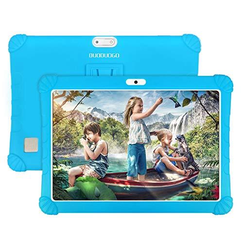 4G Tablet 10.1 Pollici con Wifi Offerte Android 9.0 Memoria RAM da 3GB+32GB Tablet Bambini Offerte 8500mAh con Slot per Scheda SIM Doppio 8MP Camera Quad Core Tablet Sbloccato WiFi/OTG(Blu)