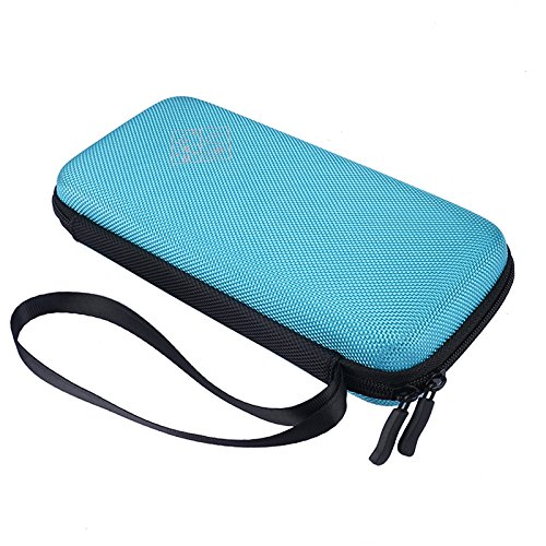 MASiKEN Hard EVA Carrying Case for Texas Instruments TI-84 Plus/TI-83 Plus CE Graphing Calculator, More Space for Pen and Accessory (Blue) Photo #4