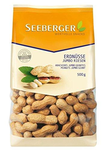 Seeberger - Erdnüsse Jumbo Riesen - 500g
