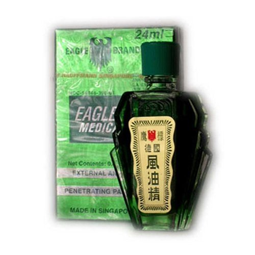 Eagle Brand Medicated Oil 0.8 Oz - 24 ml Bottle