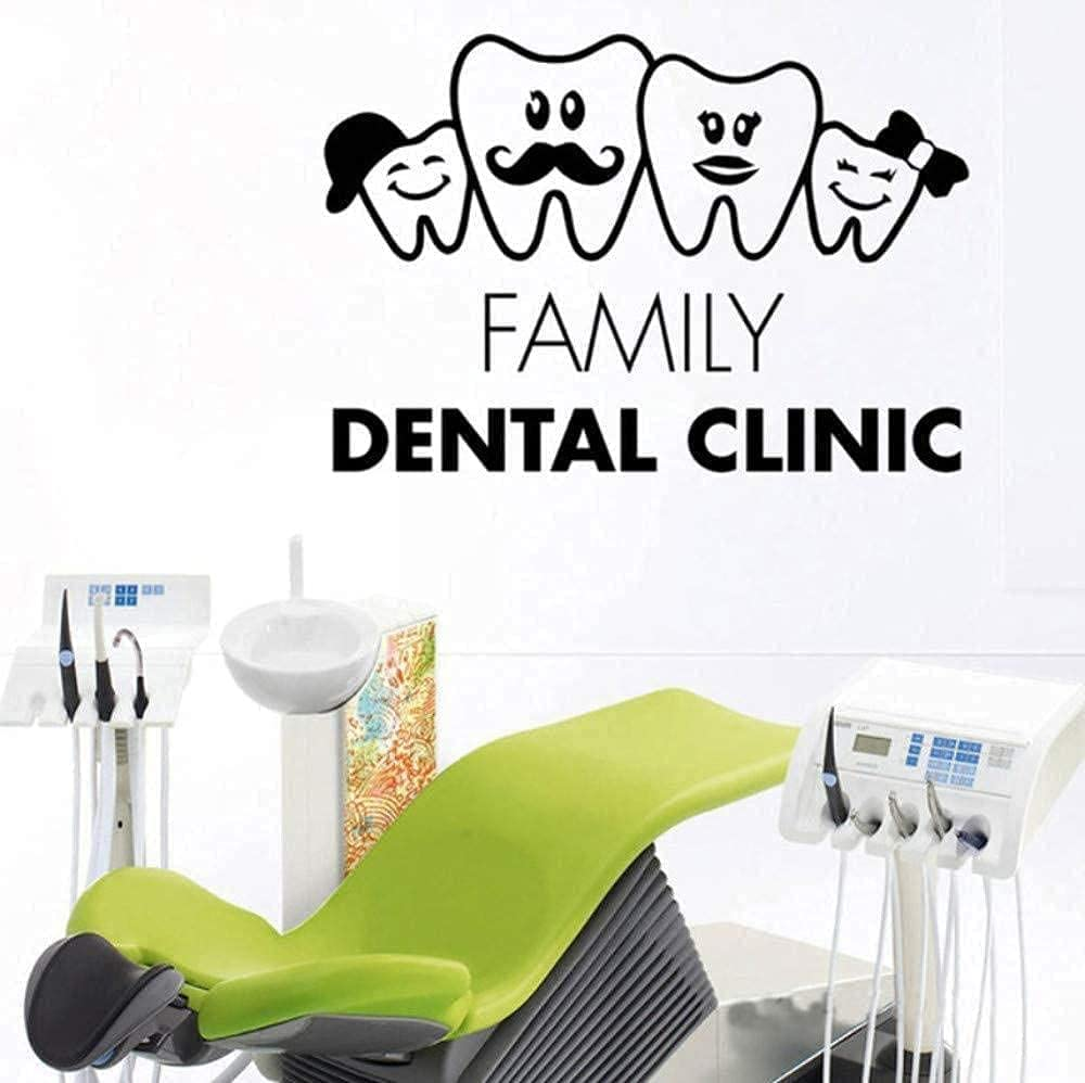 Wall Recommended Super intense SALE Art Teeth Family Dentist Surgery St Sticker Dental Hospital