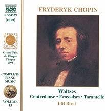 Waltzes, Op. 34