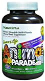 NaturesPlus Animal Parade Source of Life Children's Multivitamin - Natural Assorted, Cherry, Orange