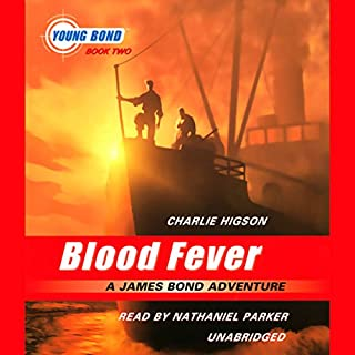 Blood Fever audiobook cover art