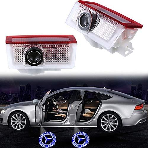 ZNYSTAR Car Lampe der lampe der Tür Ghost Shadow Willkommen Licht Einstiegsbeleuchtung Türbeleuchtung (Benz 2)