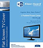 """Kleer-Guard Flat Screen TV Cover. 65'x36' Fits Up to 60"""" Flat Screen TV"""