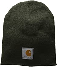 Carhartt Men's Acrylic Knit Hat, Dark Green, One Size