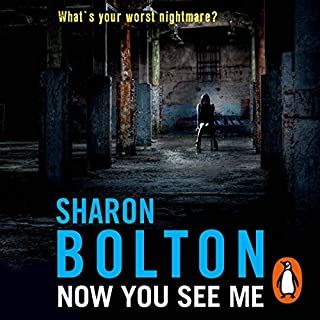 Now You See Me                   By:                                                                                                                                 Sharon Bolton                               Narrated by:                                                                                                                                 Lisa Coleman                      Length: 11 hrs and 1 min     385 ratings     Overall 4.4