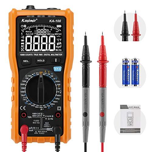 Multímetro Digital Profesional Kasimir KA100 DC AC Voltaje de Corriente...