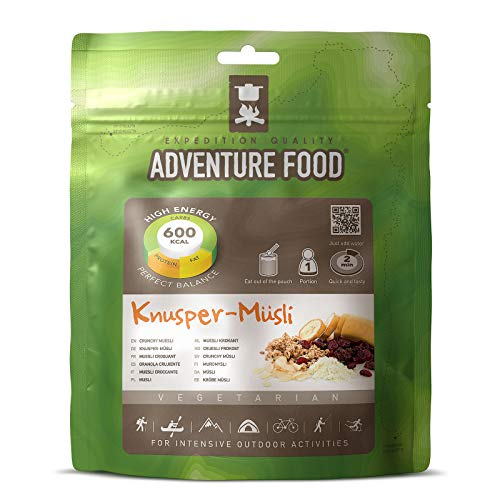 TREKMATES ADVENTURE BREAKFAST CRUNCHY MUESLI FOR 1 PERSON (GREEN POUCH)