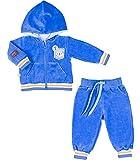 Be Mammy Kinder Baby Jogginganzug BEEK0004 (Kornblumen, 80)
