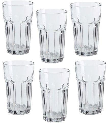 Ikea Pokal-Gläser, 340 ml, 6 Stück