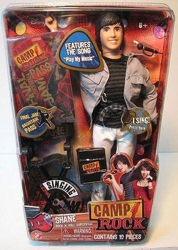Camp Rock 11 inch Singing Shane - Rock`n Roll Superstar by Camp Rock