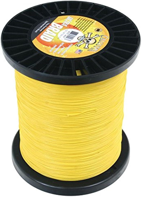 Calcutta UB50CY1500 Ultra Braid Line 23kg 1500 Yards, Yellow