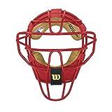 Wilson Dyna-Lite Steel Catcher's Facemask, Black