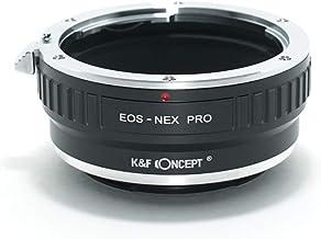 [正規代理店]K&F キャノン EOS EF(EF-S)-SONY NEX Eマウント アダプター PRO レンズクロス付 ef-nex-pro (KFNEXPRO)