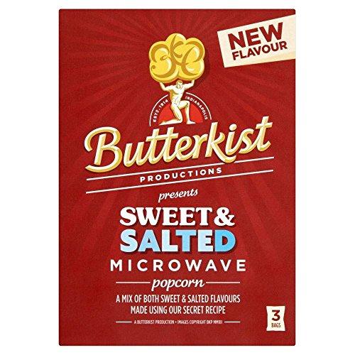 Butterkist Mikrowellen-Popcorn - Süß Und Gesalzen (3 Pro Packung - 270G)