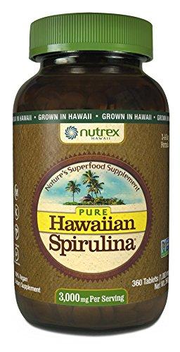 Nutrex Hawaii Pure Hawaiian Spirulina 1000mg-360 Tablets
