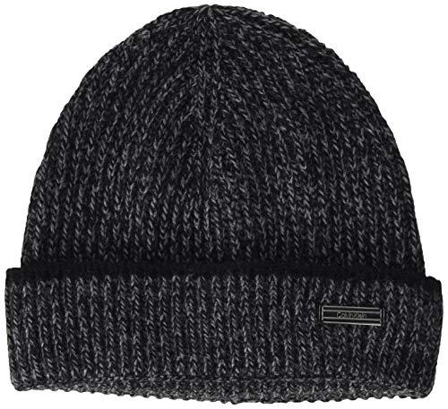 Calvin Klein Herren Beanie Hut, Schwarz, Einheitsgröße