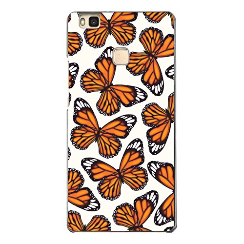 DISAGU SF de SDI de 4610_ 1276# zub- cc6496Diseño Carcasa para Huawei P9Lite–Diseño orangene Mariposas pequeño