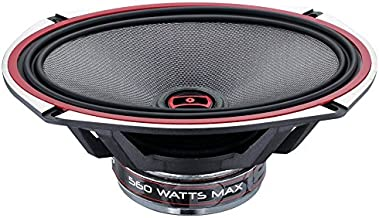 DS18 EXL-SQ6.9 6X9Inch, 3-Ohm 2 -Way High Sound Quality Coaxial Car Speakers, With Sleek Compact Design Providing Superior Bass Response, 560 Watts -SET OF 2