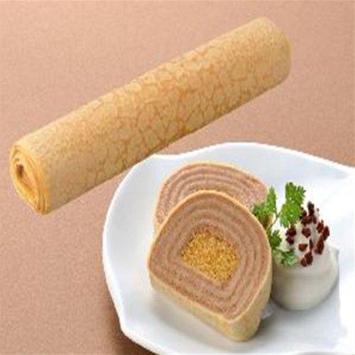 フレック フリーカットケーキミルクレープロール ショコラ 270g 【冷凍】