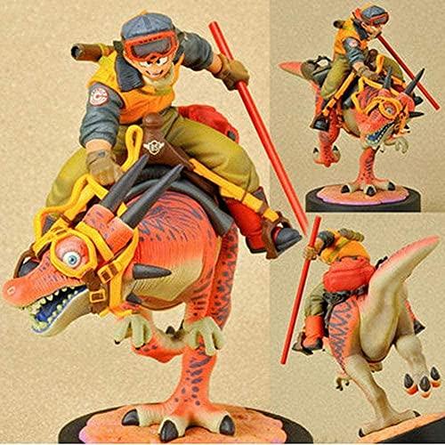 Modelo de personaje de dibujos animados anime MANG Figuras infantiles Modelo Juguetes, Figuras de acción de personaje Dragon Ball Montado en un Dragon Son Goku Modelo de colección animada Estatua