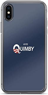 iPhone Xs Max Case Cases Clear Anti-Scratch Vote Quimby, Voter Cover Case for iPhone Xs Max, Crystal Clear