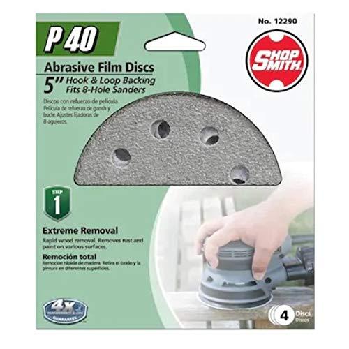 Find Discount Shopsmith Aluminum Oxide 40-Grit Disc Sandpaper