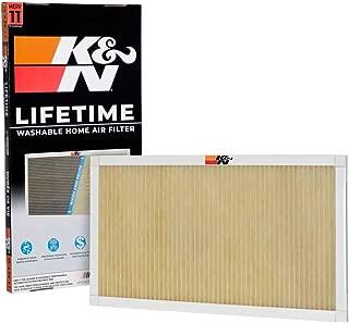 K&N Home Reusable Air AC Furnace Filter, 14x24x1